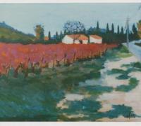 105 - La Vigne rouge  1989    (VENDU)