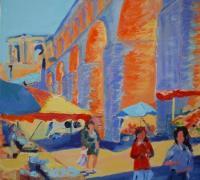 183 - Marché aux arceaux   2009  (VENDU)